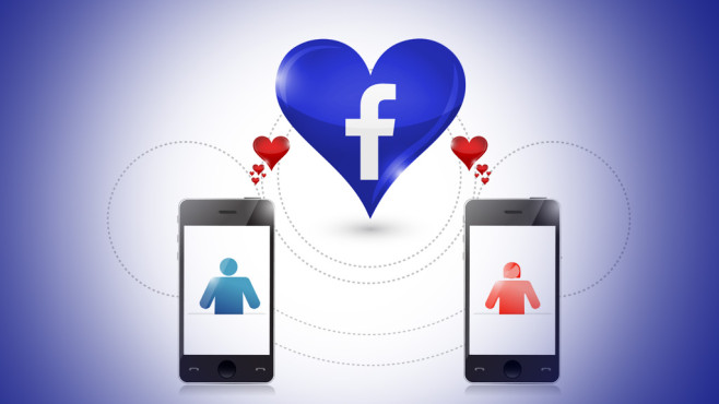 Facebook-Dating © alexmillos – Fotolia.com