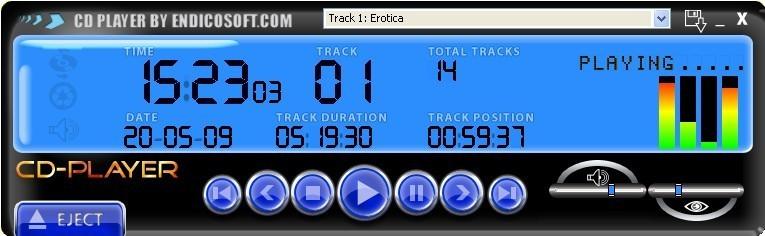 Screenshot 1 - CD-Player