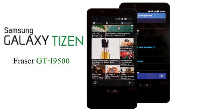 Samsung Smartphone mit Tizen©Internet