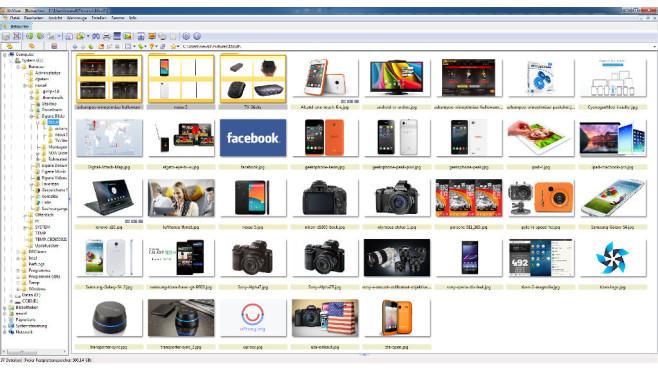Screenshot XnView©XnView / Screenshot COMPUTER BILD