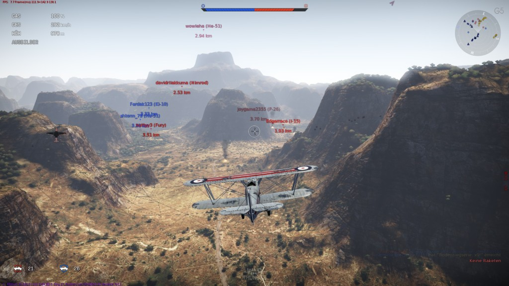 Screenshot 1 - War Thunder