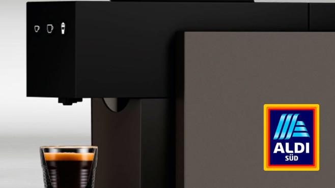 Aldi-Kaffeemaschine: Kapselmaschine Expressi Square bei Aldi Süd©Aldi Süd
