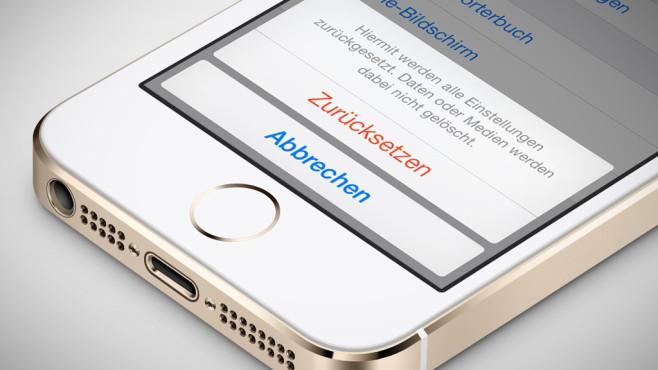 Iphone  Wiederherstellen Fehler
