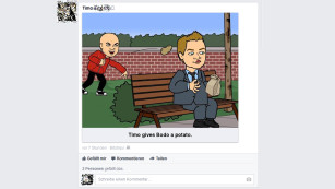 Bitstrips bei Facebook©COMPUTER BILD