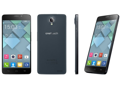 Verschiedene Ansichten des Alcatel One Touch Idol X © TCT Mobile Ltd.