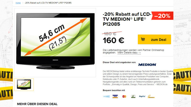 Medion Life P12085 (MD 21148) © Medion, Black Friday GmbH