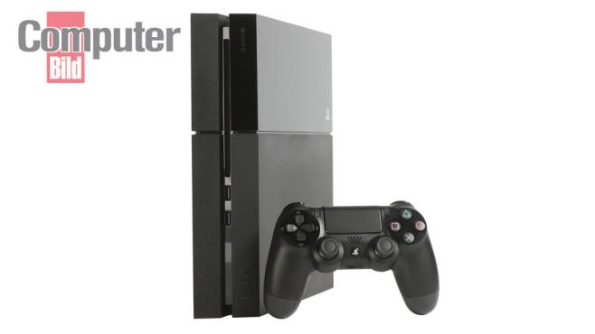 PS4: Konsole und Controller©COMPUTER BILD SPIELE