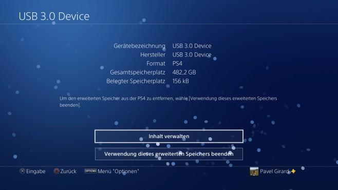 PS4: Festplatte©Sony