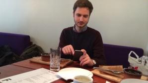 Paypal-Zahlung im Restaurant©Martin Gardt