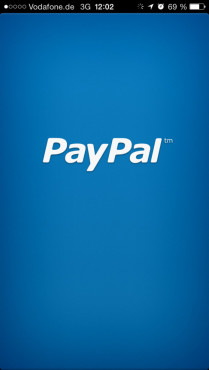 Paypal-App © Paypal