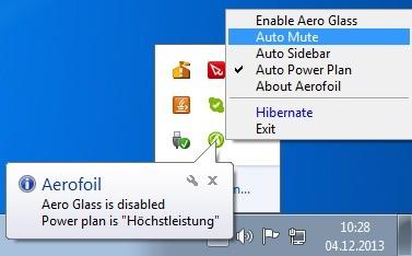 Screenshot 1 - Aerofoil