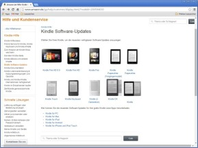Kindle- und Fire-Software-Updates