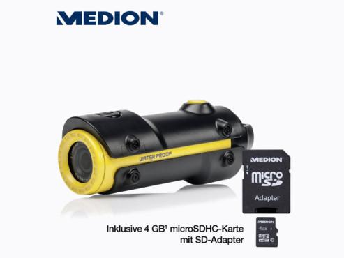 Sport-Camcorder: Medion Life S47008 (MD 86692), erhältlich bei Aldi Nord ©Aldi Nord