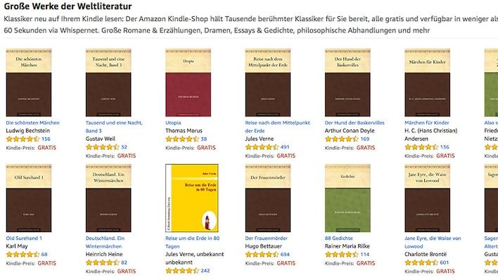 Kindle-Buchshop