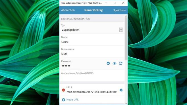 Bitwarden Passwort-Manager ©COMPUTER BILD, 8bit Solutions