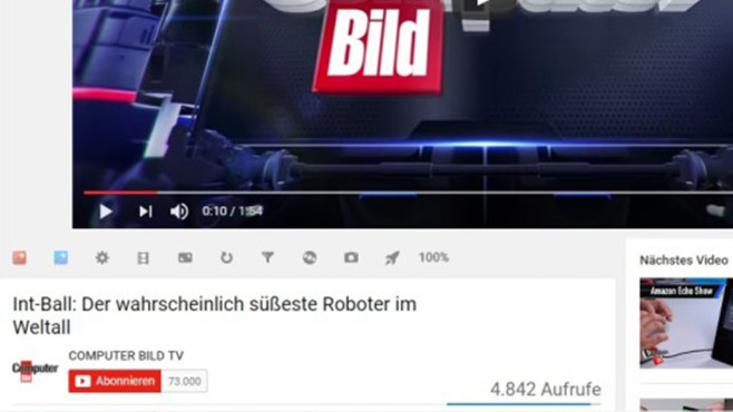 Magic Actions for YouTube © COMPUTER BILD