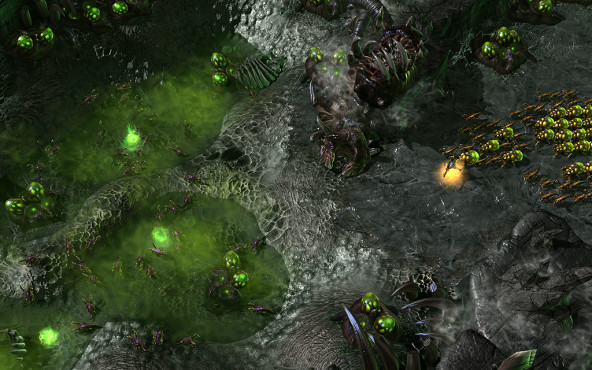 Strategiespiel Starcraft 2 – Heart of the Swarm © Activision Blizzard