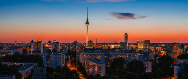 Berliner Abendrot © 030mm-photography