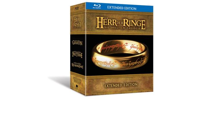 Der Herr der Ringe - Die Spielfilm Trilogie (Extended Edition) [Blu-ray] ©Amazon
