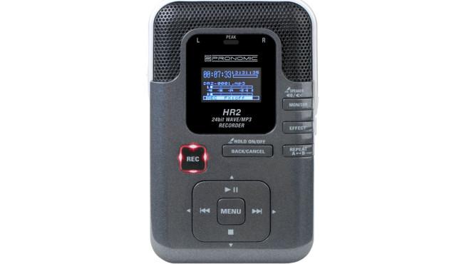 Pronomic HR2 Portabler MP3/Wave-Recorder ©Amazon