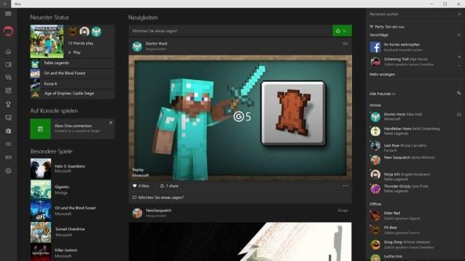 Xbox App Streamen©Microsoft