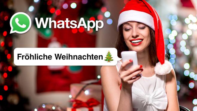 Weihnachtsgrüße Auf Whatsapp.Whatsapp Weihnachtsgrüße Sprüche Zu Weihnachten Computer Bild