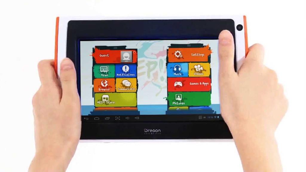 oregon scientific meep x2 tablet pc f r kinder im test. Black Bedroom Furniture Sets. Home Design Ideas