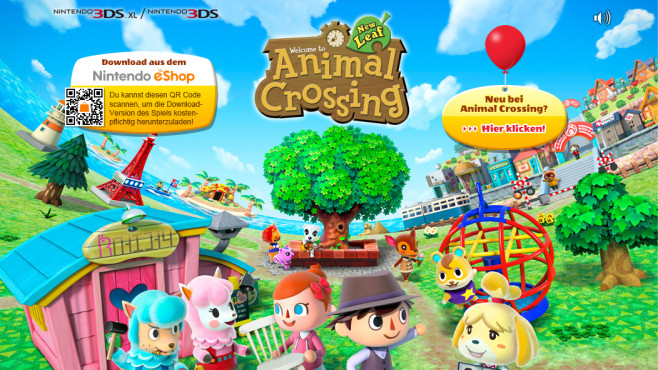 Animal Crossing – New Leaf (3DS) ©Nintendo