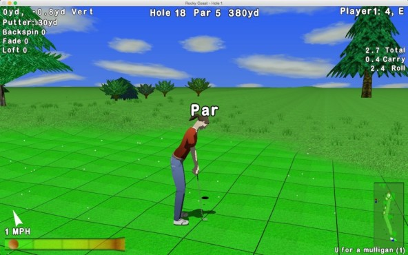 GL Golf Lite © Nuclear Nova Software
