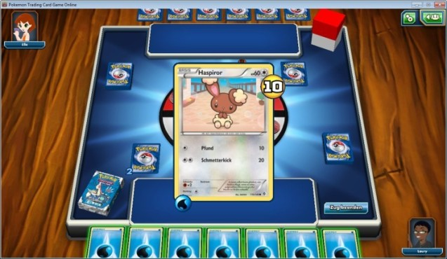 Pokémon Trading Card Game Online: Deck © Pokémon Company