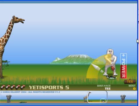 Yetisports Part 5 – Flamingo Drive ©Yetisports