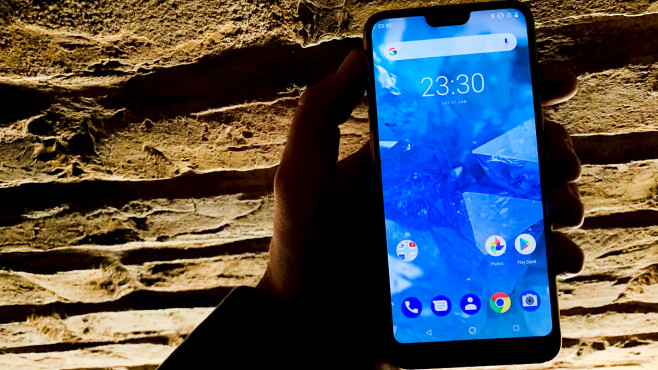 Nokia 7.1: Display © COMPUTER BILD