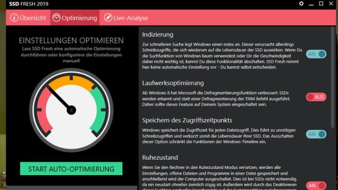 SSD Fresh: Windows für SSD-Betrieb optimieren ©COMPUTER BILD