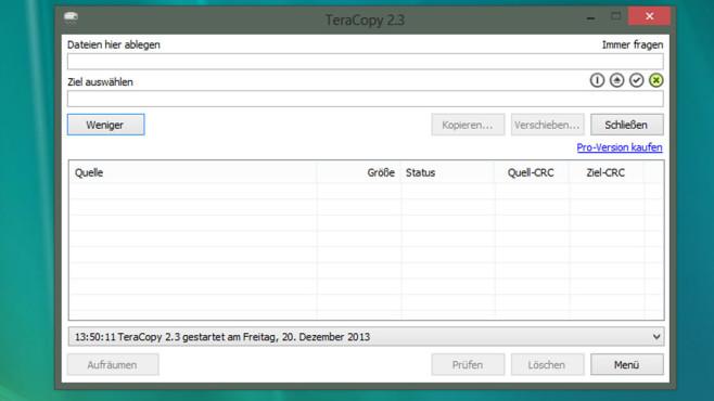 TeraCopy: Dateien zügig kopieren ©COMPUTER BILD