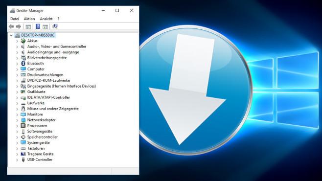 Windows-10-Treiber: Steuerungsprogramme aufspielen ©COMPUTER BILD