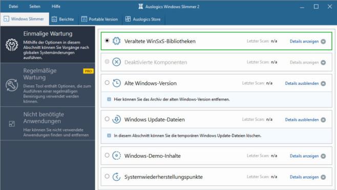 Windows Slimmer: Festplatte entschlacken ©COMPUTER BILD