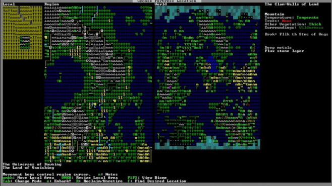 Dwarf Fortress ©Bay 12 Games