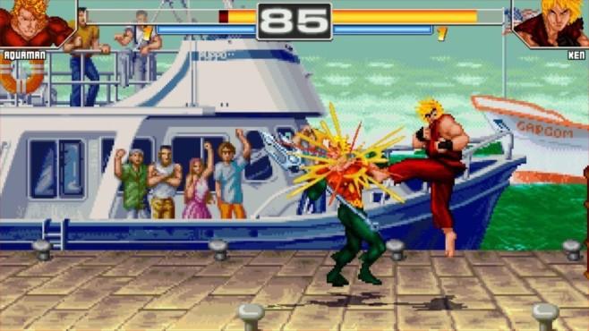 Justice League vs. Street Fighter ©Zvitor Franco