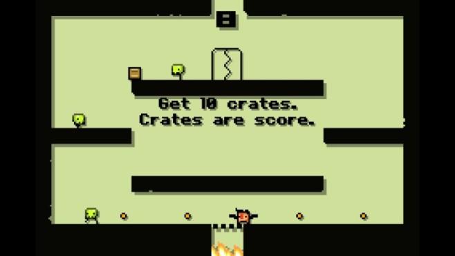 Super Crate Box: Level ©Vlambeer