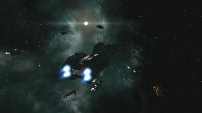 Wing Commander Saga – The Darkest Dawn: Weltraum ©Wing Commander Saga