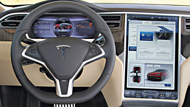 tesla model s 1 generation bilder screenshots. Black Bedroom Furniture Sets. Home Design Ideas