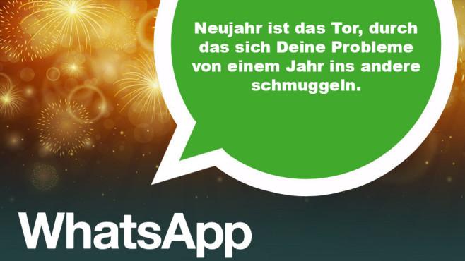 WhatsApp: Die besten Neujahrsgrüße ©Ramona Kaulitzki - Fotolia.com, WhatsApp