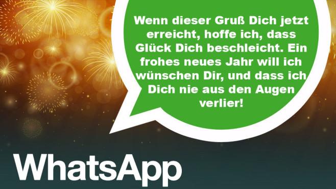 WhatsApp-Sprüche zu Neujahr ©Ramona Kaulitzki - Fotolia.com, WhatsApp
