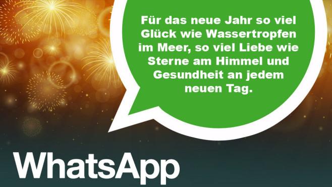 Whatsapp Die Besten Neujahrsgrusse Bilder Screenshots