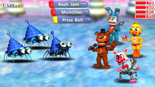 FNaF World © Scott Cawthon