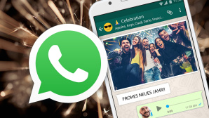 WhatsApp-Sprüche zu Silvester © istock.com/gilaxia, Richard Beech Photography/gettyimages