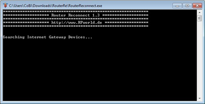 Screenshot 1 - Router Reconnect