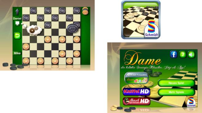 Damespiel ©b-interaktive GmbH