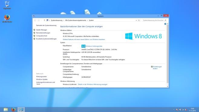Microsoft Windows 8 ©COMPUTER BILD
