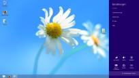 Windows 8: Charms-Bar©COMPUTER BILD